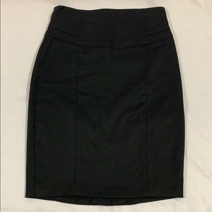 Black Pencil Skirt Size Medium